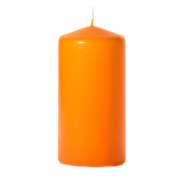 Mango 3 x 6 Unscented Pillar Candles