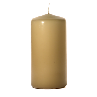 Parchment 3 x 6 Unscented Pillar Candles