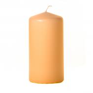 Peach 3 x 6 Unscented Pillar Candles