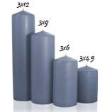 Wedgwood 3 x 6 Unscented Pillar Candles