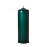 Hunter green 3 x 9 Unscented Pillar Candles