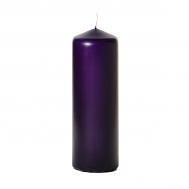 Lilac 3 x 9 Unscented Pillar Candles