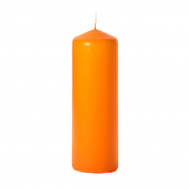 Mango 3 x 9 Unscented Pillar Candles