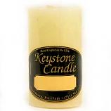 2 x 3 French Butter Cream Pillar Candles