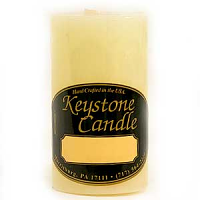 2 x 3 French Vanilla Pillar Candles