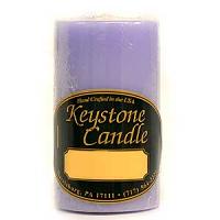 2 x 3 Lemon Lavender Pillar Candles