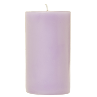 2 x 3 Lemon Lavender Pillar Candles