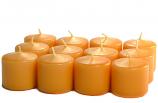 Unscented Harvest Votive Candles 15 Hour