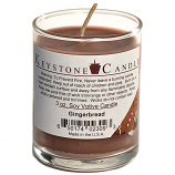 Gingerbread Soy Votive Candle in Glass