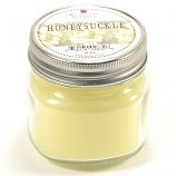 Honeysuckle Mason Jar Candle Half Pint