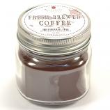 Fresh Brewed Coffee Mason Jar Candle Half Pint