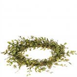 English Boxwood Candle Ring 6.5 Inch