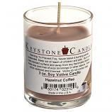 Hazelnut Coffee Soy Votive Candle in Glass