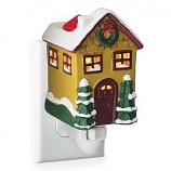 Christmas Cottage Mini Tart Burner