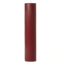 3 x 12 Redwood Cedar Pillar Candles