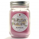 Hawaiian Gardens Mason Jar Candle Pint