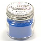 Blueberry Cobbler Mason Jar Candle Half Pint