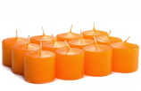 Unscented Mango Votive Candles 10 Hour