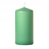 Mint green 3 x 6 Unscented Pillar Candles