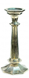 Aluminum Candlestick 13.5 Inch