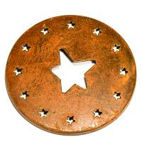 Rust Star Jar Capper