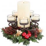 Traditions Pillar and Tea Light Holder