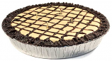 9 inch Peanut Butter Pie Candles