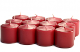Unscented Raspberry Votive Candles 10 Hour