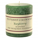 Rustic Bayberry 3 x 3 Pillar Candles