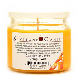 Orange Twist Soy Jar Candles 5 oz