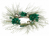 Pine Bell Candle Ring 6 Inch