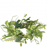 Foliage and Berry 4.5 Inch Candle Ring