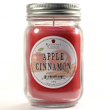Apple Cinnamon Mason Jar Candle Pint