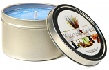 4 oz Ocean Breeze Candle Tins