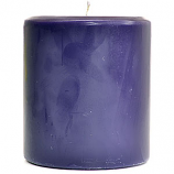 Recycled Wax 4 x 4 Pillar Candles