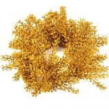 Mustard Wildflower Canlde Ring 3 Inch