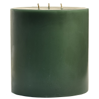 6 x 6 Tuscan Herb Pillar Candles