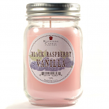 Black Raspberry Vanilla Mason Jar Candle Pint