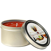 4 oz Apples and Brown Sugar Candle Tins