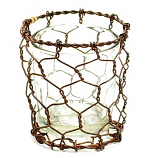 Chicken Wire Votive Holder Set