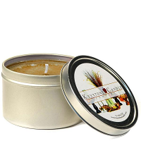 8 oz Hazelnut Coffee Candle Tins