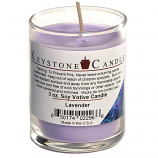 Lavender Soy Votive Candle in Glass