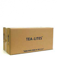 500 White Bulk Tea Lights Boxed