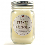 French Butter Cream Mason Jar Candle Pint