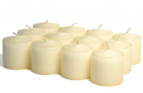 Unscented Ivory Votive Candles 10 Hour