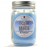 Ocean Breeze Mason Jar Candle Pint