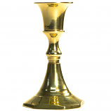 3.75 Inch Brass Taper Holder