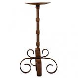 Siriana Iron Pillar Candle Holder 10 Inch