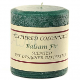 Rustic Balsam Fir 3 x 3 Pillar Candles