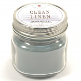 Clean Linen Mason Jar Candle Half Pint